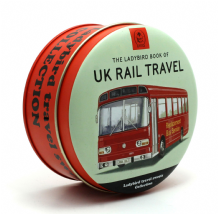 Simpkins Ladybird Book Travel Sweets Tin - Rail Travel